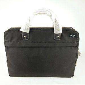 Jack Spade Men's Luggage Nylon Slim Briefcase NWT